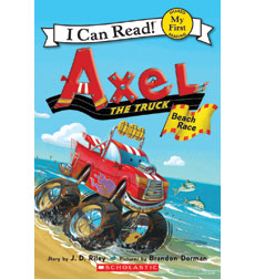 Axel the Truck—My First I Can Read!™: Beach Race