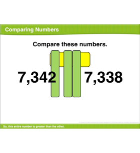 Comparing Numbers: Math Lesson