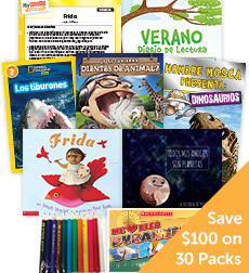 My Books Summer Spanish Grade 2 Nonfiction - Classroom Set