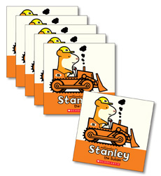 Guided Reading Set: Level H – Stanley the Builder