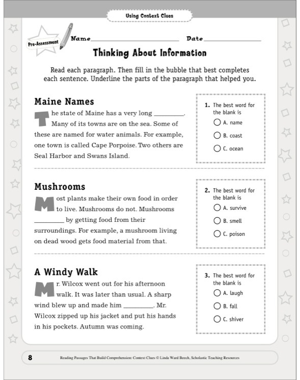 how to build reading comprehension