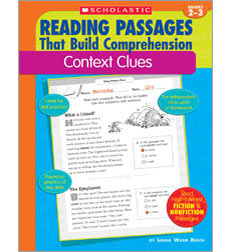 Reading Passages That Build Comprehension: Context Clues
