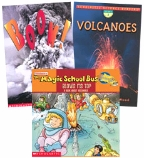 Scholastic Trio Individual Theme Unit Set 2, Science - Volcanoes, Grades 2-3