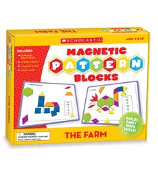 The Farm Magnetic Pattern Blocks