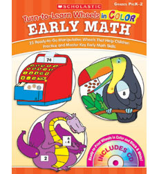 Turn–to–Learn Wheels in Color: Early Math