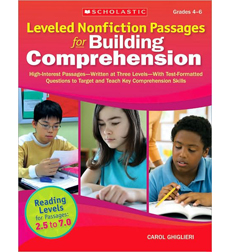 Leveled Nonfiction Passages for Building Comprehension