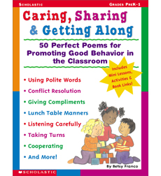 Caring, Sharing & Getting Along by Betsy Franco Spanish Teacher Teaching