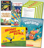 Summer Reading Spanish Fiction Grade 1 (5 Books)