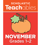 November Grades 1-2 Printable Packet