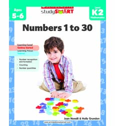 Image of Scholastic Study Smart: Numbers 1 to 30: Grades K-2