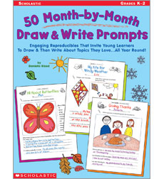 50 Month-by-Month Draw & Write Prompts
