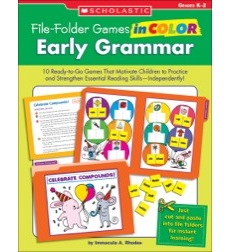 File–Folder Games in Color: Early Grammar