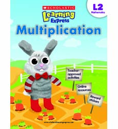 Image of Scholastic Learning Express Level 2: Multiplication