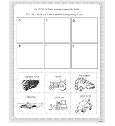 Dig Dig Digging - Activity Sheet