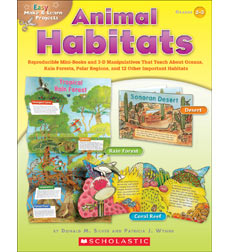 Easy Make & Learn Projects: Animal Habitats