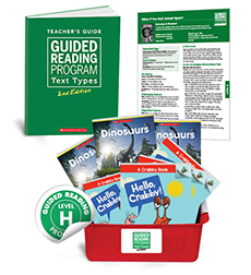 Guided Reading Text Types: Level H