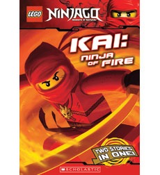 LEGO Ninjago: Kai: Ninja of Fire (Chapter Book #1)