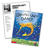 Giraffes Can't Dance – Literacy Express Pack