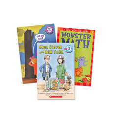 Scholastic Readers Math Levels 1–4