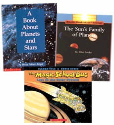 Scholastic Trio Individual Theme Unit Set 3, Science - Solar System, Grades 3-4