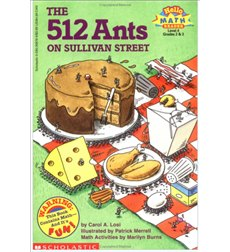 Scholastic Reader!® Math Level 4: The 512 Ants on Sullivan Street