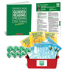 Guided Reading Text Types: Grade 6 Levels, T–Z