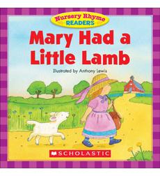 Nursery Rhyme Readers Mary Had A Little Lamb By