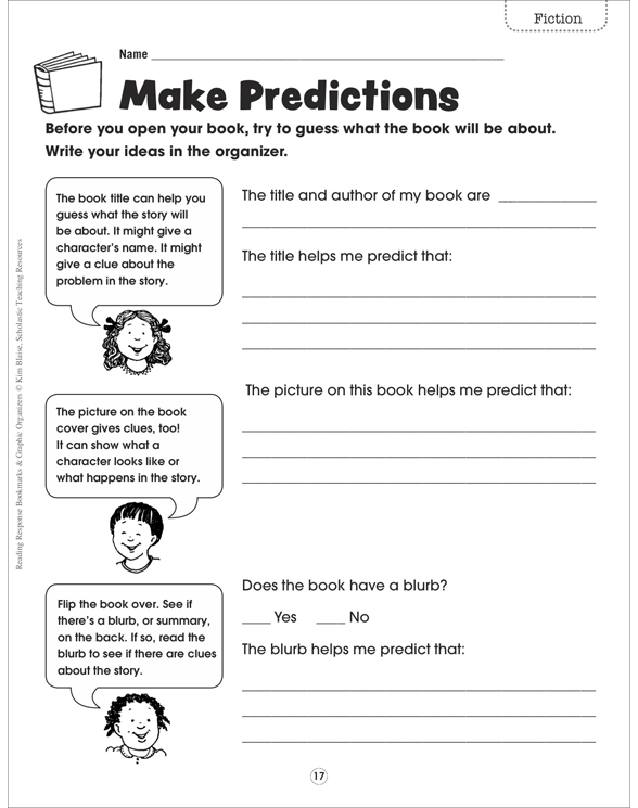 Book Jacket Graphic Organizer : Reading response bookmarks graphic organizers by
