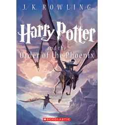 Harry Potter and the Order of the Phoenix 9780545582971