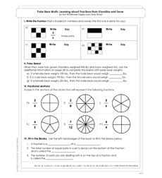 Polar Bear Math - Activity Sheet