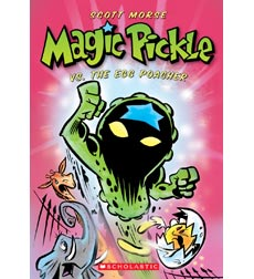 Magic Pickle Vs the Egg Poacher