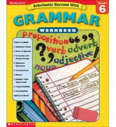 Scholastic Success With Grammar Grade 6 By border=