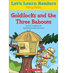 Let's Learn Readers: Goldilocks and the Three Baboons