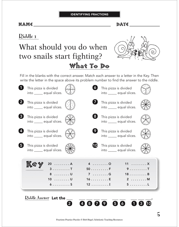 Fractions Practice Puzzles By Bob Hugel. Fractions Practice Puzzles. Worksheet. Adding And Subtracting Fractions Riddle Worksheet At Clickcart.co