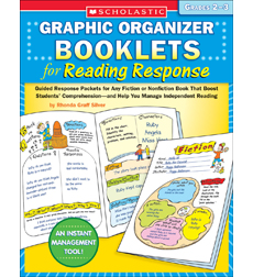 Graphic Organizer Booklets for Reading Response: Grades 2-3