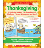 Read & Write Booklets: Thanksgiving