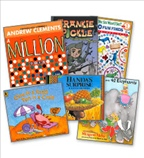 Math Reads from Marilyn Burns - Grade K-5 Whole School Set