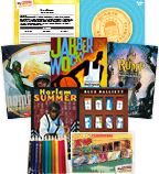 My Books Summer Grade 7 Genre Study (5 Books)