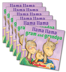 Guided Reading Set: Level L - Llama Llama Gram and Grandpa