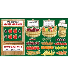 Farmer's Market Math Bulletin Board