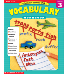 Scholastic Success With Vocabulary Grade 3 By