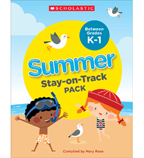 Summer Stay-on-Track Pack Between Grades K and 1