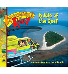 Adventures Of Riley #8: Riddle Of The Reef 9780545068475