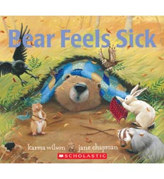 Bear Feels Sick