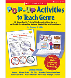 Pop-Up Activities to Teach Genre