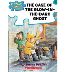 Jigsaw Jones: The Case of the Glow-in-the-Dark Ghost
