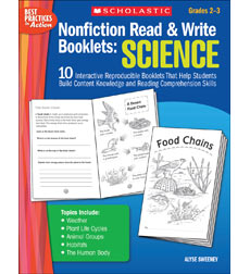 Nonfiction Read & Write Booklets: Science