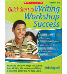 Quick Start to Writing Workshop Success