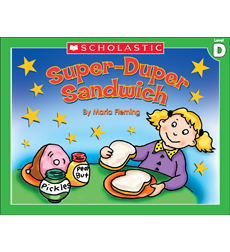 Little Leveled Readers: Super-Duper Sandwich (Level D)