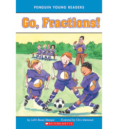Penguin Young Readers: Go, Fractions!